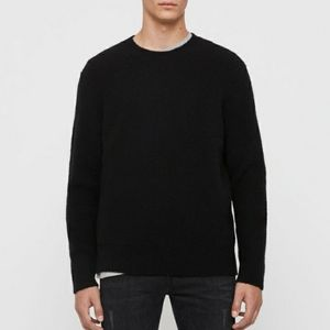 ALL SAINTS PULLOVER SWEATER BLK XL